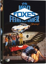 Jaquette Mad Foxes Mediabook (DVD + BLURAY - cover A)