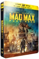 Jaquette Mad Max : Fury Road (SteelBook Ultimate Édition - Blu-ray 3D + Blu-ray + DVD + Copie digitale)