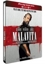Jaquette Malavita (Combo Blu-ray + DVD - �dition Limit�e bo�tier SteelBook)
