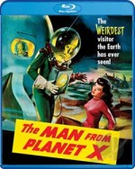 Jaquette Man from Planet X
