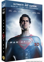 Jaquette Man of Steel (Ultimate Edition - Blu-ray 3D + Blu-ray + DVD + Copie digitale)