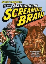 Jaquette Man With the Screaming Brain
