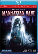 Jaquette Manhattan Baby (Blu-ray/DVD/CD)