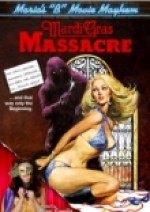 Jaquette Maria's B-Movie Mayhem: Mardi Gras Massacre