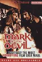 Jaquette MARK OF THE DEVIL EPUISE/OUT OF PRINT