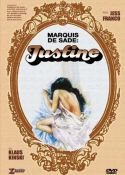 Jaquette Marquis de Sade: Justine EPUISE/OUT OF PRINT