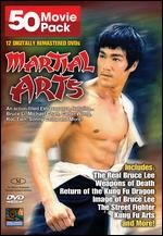 Jaquette MARTIAL ARTS 50 MOVIE PACK