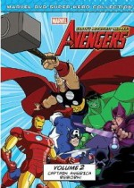 Jaquette Marvel The Avengers: Earth's Mightiest Heroes, Vol. 2