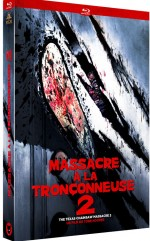Jaquette Massacre à la Tronçonneuse 2 - Bluray + DVD