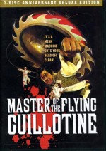 Jaquette MASTER OF THE FLYING GUILLOTINE ANNIVERSARY EDITION