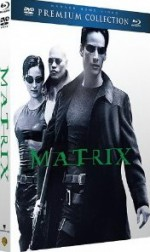 Jaquette Matrix - Collection Premium - Combo Blu-ray + DVD + livret