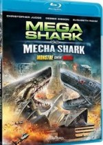 Jaquette Mega Shark vs. Mecha Shark
