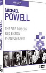 Jaquette Michael Powell : Fire Raisers + Red Ensign + The Phantom Light (Pack)