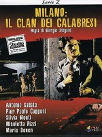 Jaquette Milano: Il Clan Dei Calabresi EPUISE/OUT OF PRINT