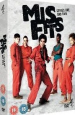 Jaquette Misfits - Series 1 and 2