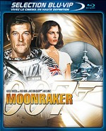 Jaquette Moonraker (�dition Blu-ray + DVD)