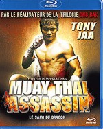 Jaquette Muay Thai Assassin - Le sang du dragon