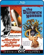 Jaquette Murders in the Rue Morgue / The Dunwich Horror