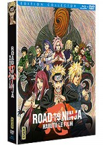 Jaquette Naruto - Le Film : Road to Ninja (Édition Collector Blu-ray + DVD)