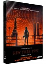 Jaquette New York 1997 (4K Ultra HD + Blu-ray + Blu-ray bonus - Édition boîtier SteelBook) EPUISE/OUT OF PRINT