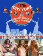 Jaquette New York Grindhouse 1970s Superstars Triple Feature