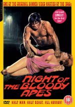 Jaquette Night of the Bloody Apes