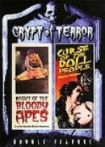 Jaquette Night of the Bloody Apes/Curse of the Doll People