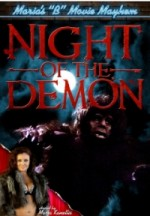 Jaquette Night of the Demon EPUISE/OUT OF PRINT