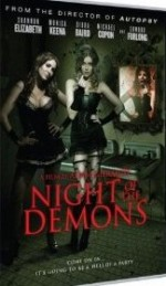 Jaquette Night of the Demons