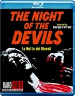 Jaquette Night of the Devils (Raro)