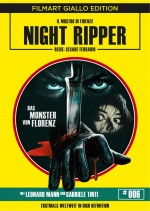 Jaquette Night Ripper - Das Monster von Florenz (Bluray + DVD)