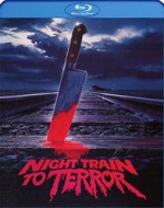 Jaquette Night Train To Terror (Blu-ray + DVD Combo)