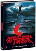 Jaquette Night Train to Terror (Blu-Ray+DVD) - Cover A