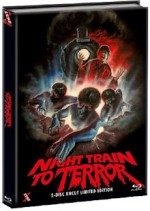 Jaquette Night Train to Terror (Blu-Ray+DVD) - Cover B