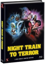 Jaquette Night Train to Terror (Blu-Ray+DVD) - Cover C