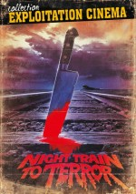 Jaquette Night Train to Terror EPUISE/OUT OF PRINT