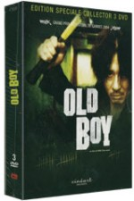Jaquette Old Boy Edition Collector 3 DVD EPUISE/OUT OF PRINT