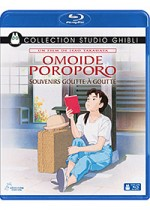 Jaquette Omoide Poroporo, souvenirs goutte � goutte (Only Yesterday)