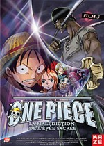 Jaquette One Piece - Le Film 5 : La Mal�diction de l'�p�e sacr�e