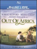 Jaquette Out of Africa (25th Anniversary)