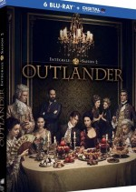 Jaquette Outlander - Saison 2 (Blu-ray + Copie digitale)
