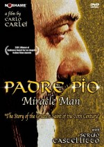 Jaquette Padre Pio Miracle Man EPUISE/OUT OF PRINT