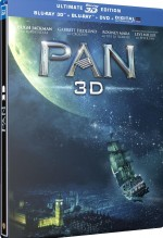 Jaquette Pan (2015) - Blu-ray 3D (Blu-ray 3D + Blu-ray + DVD + Copie digital)