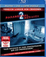 Jaquette Paranormal Activity 2 (édition Blu-ray + DVD + Copie digitale)