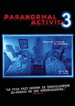 Jaquette Paranormal Activity 3