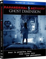 Jaquette Paranormal Activity 5 : Ghost Dimension