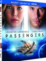 Jaquette Passengers - Combo Blu-ray 3D + Blu-ray + Copie digitale