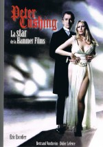 Jaquette Peter Cushing, la Star de la Hammer