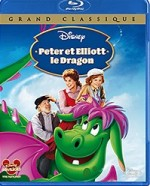 Jaquette Peter et Elliott le dragon