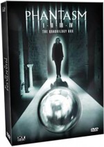 Jaquette Phantasm Quadrilogy Box EPUISE/OUT OF PRINT